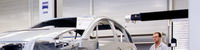 Horizontalarm-KMG; SMM; Doppelarm; Messraum; PKW-Blechteile auf Vorrichtungen